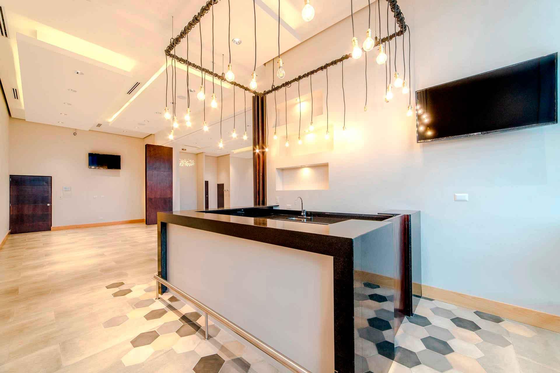 Parque las Americas Salon de Eventos Redes 9 - sky lounge